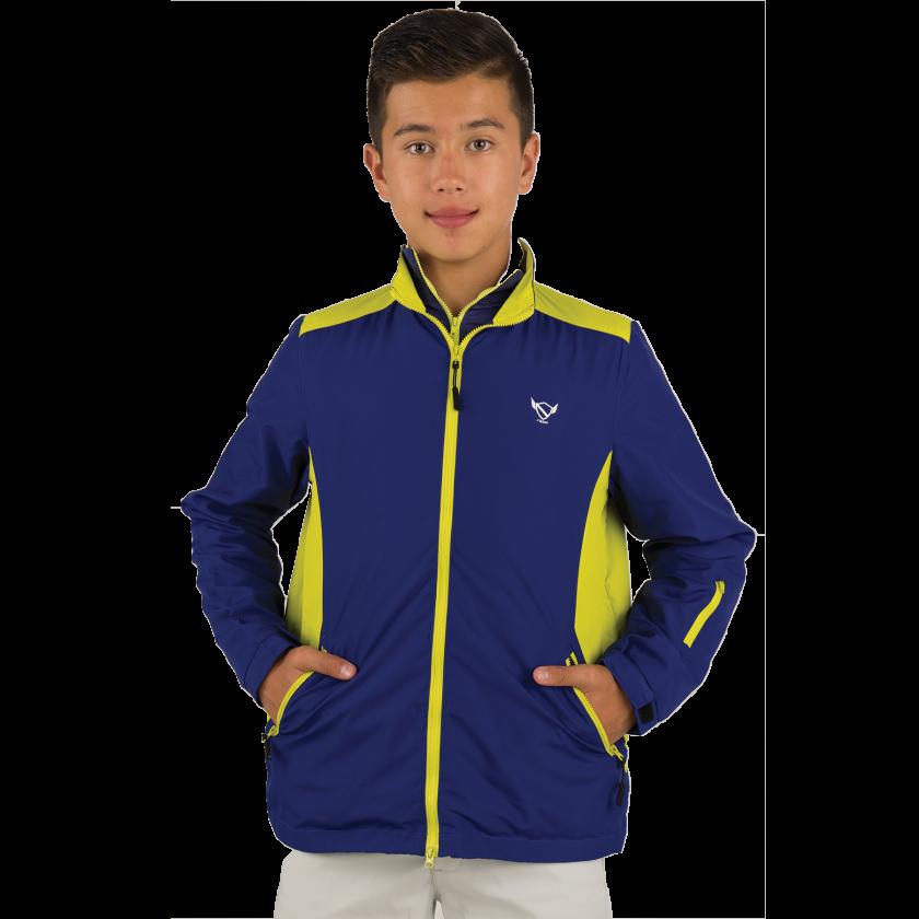 boys teal:neon jacket 2016