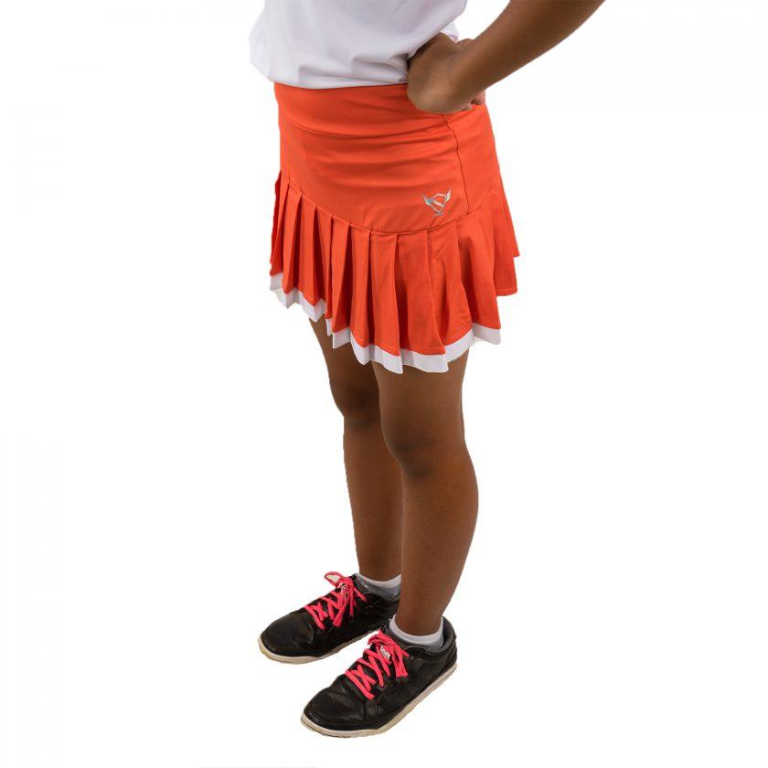 orange skort 2016